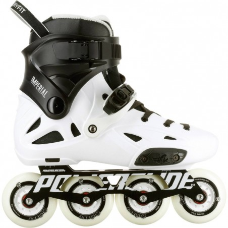 Roller freeride adulte IMPERIAL ONE blanc noir