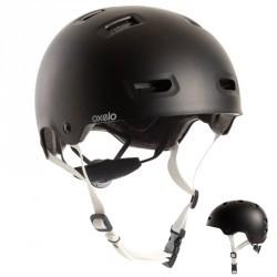 Casque roller skateboard trottinette vélo MF500 noir