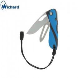 Couteau de Marin Wichard Offshore - Multifonctions Bleu