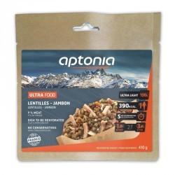 Repas déshydraté trekking MOUNTAIN FOOD lentilles et jambon 130g