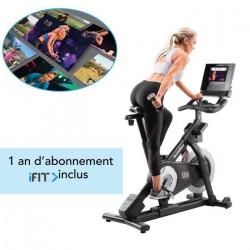 NORDICTRACK - Vélo d'appartement Commercial S10i Studio Cycle Connecté iFIT/ 13 kg Effective Inertia/ Abonnement 1-an inclus