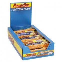 15 x Protein Plus 30% Bar 55 g (Vanille - Caramel Croquant)
