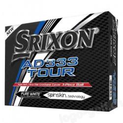 Srixon 10255843 Balle de Golf Mixte Adulte, Pure White, Unique