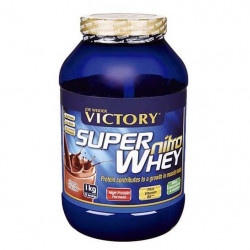 Protéines Weider Victory Super Nitro Whey 1 Kg Strawberry - Banana - Taille : 1 Kg - Couleur marketing : Multicoloured