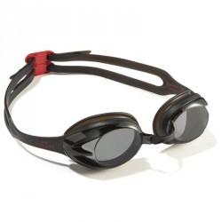 Lunettes de natation ACTION noir rouge