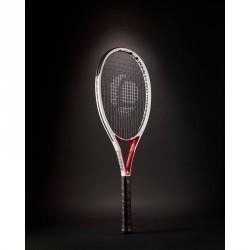 Raquette de tennis expert  TR 960 Précision  blanc rouge