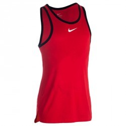 TANK NIKE TOP CROSS OVER  ROUGE