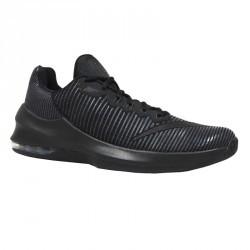 chaussure de basket NIKE AIR MAX INFURIATE MID NOIR  adulte