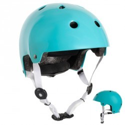 Casque roller skate trottinette vélo PLAY 5 turquoise