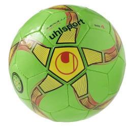 Ballon Uhlsport Futsal Medusa Anteo 350 Lite - vert/jaune/noir - Taille 4 (futsal)