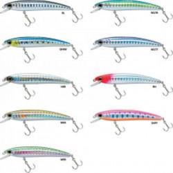 Leurre flottant yo-zuri pin's minnow - 5cm 0.4 2 5 a l'unité dos blanc flottant hsr n°12
