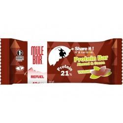 Mulebar Barre Protéinée Refuel - Chocolat Amandes Diététique Protéines / récupération