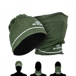 Bonnet-tour de cou hiver BV Sport - vert - TU