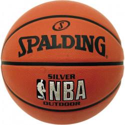 SPALDING Ballon NBA Silver Outdoor T7