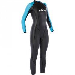 Combinaison de natation néoprène OWS500 3/2 mm femme eau tempérée