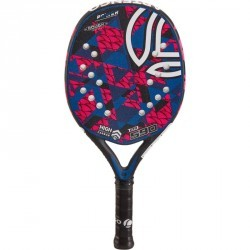 Raquette Beach Tennis BTR 590 rose/bleue