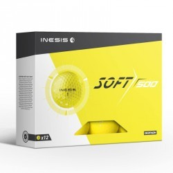 Balle de golf SOFT 500 X12 Jaune