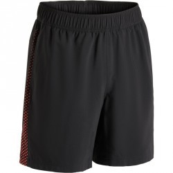 Short  PUMA fitness cardio homme noir rouge E2