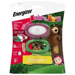 Lampe frontale Ampoule LED Energizer Mascha und der Bär à pile(s) 28 g lilas, vert, jaune