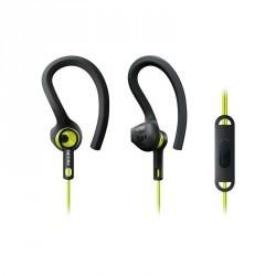 Écouteurs sport SHQ1555 avec micro et télécommande Carbon lime