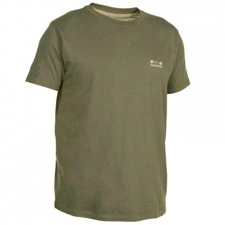 Tee shirt steppe 100  manches courtes vert
