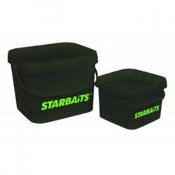 Starbaits Seau Stb Square 3.5 lt  Seau de Pêche Bac Cuvette Bassine Appât Amorce Accessoires