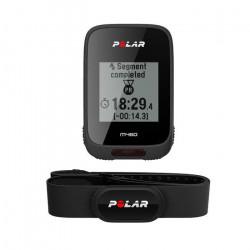 Polar - M460 - Compteur vélo GPS intégré avec ceinture capteur de fréquence cardiaque