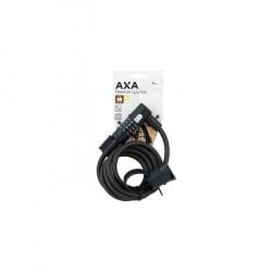 Axa - Antivol Vélo Spiral Newton 150cm Combinaison 4 chiffres Dureté 10mm