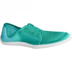 Chaussures aquatiques Aquashoes 120 adulte dégradé vert turquoise