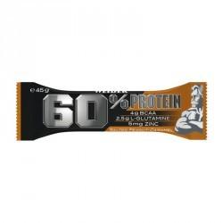 Barre de proteine 60% caramel beurre de cacahuete