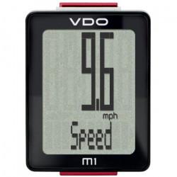 VDO M1 WR - Compteur velo avec fil - noir