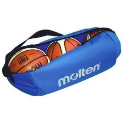 Molten sac à balles pour basket 56,8 litres bleu