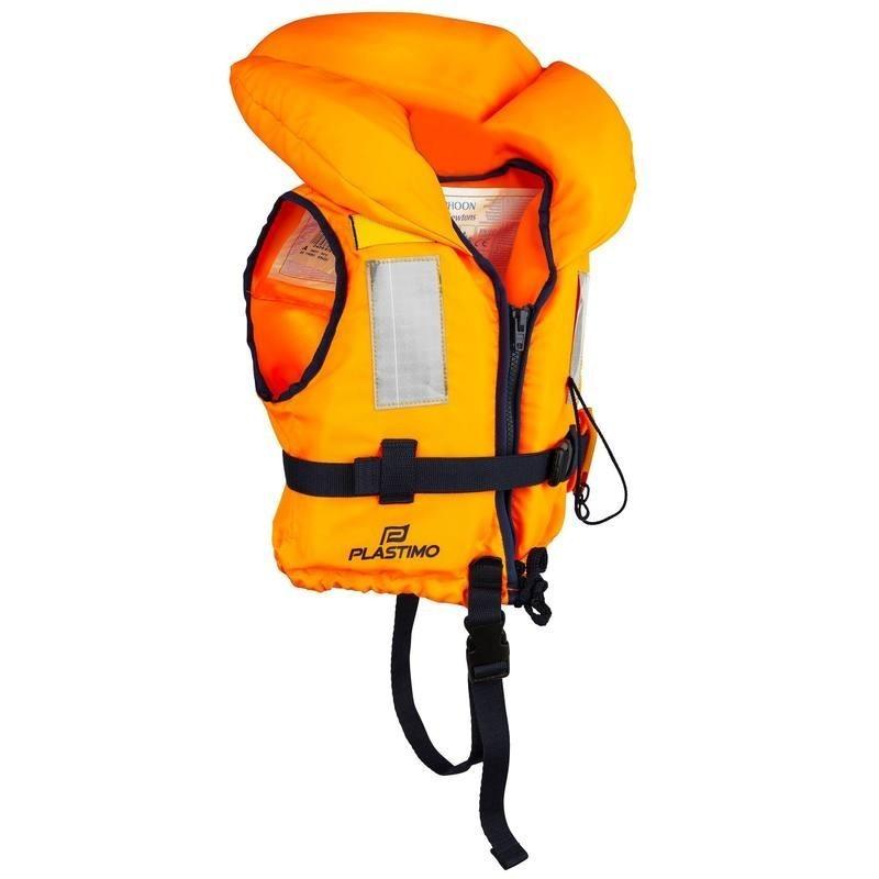 Gilet de sauvetage mousse enfant Typhon 100N orange
