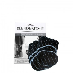 Slendertone Abs - Pads de gel de remplacement pour ceinture, Pack triple économique