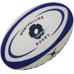 GILBERT Ballon de rugby REPLICA - Montpellier - Taille 5