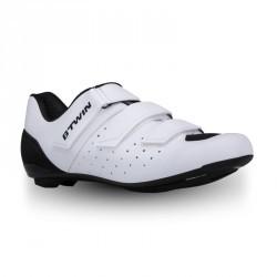 Chaussures vélo ROADR 500 BLANC