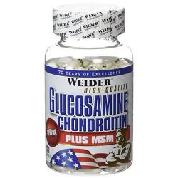 WEIDER Pot Compléments alimentaires  Glucosamine Chondroitine + msm120 gel