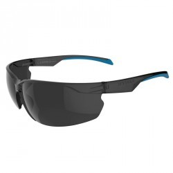Lunettes de VTT adulte ST 100 grises et bleues catégorie 3