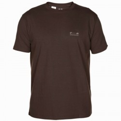 Tee shirt steppe 100 manches courtes marron