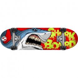 STAMP Skateboard 28 x 8 Shark Skids Control