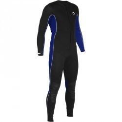Combinaison intégrale de snorkeling homme 2mm noire