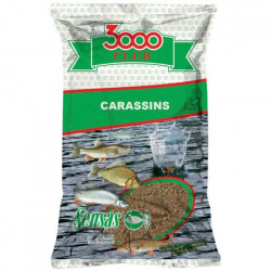 AMORCE SENSAS 3000 CLUB CARASSINS (Jaune - 1 - 3/5 - 4/5 - 4/5 - Printemps/Eté)