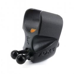 Fox Black Label Adjustable Rod Clip Black Label Adjustable Rod Clip  pour la Pêche à la Carpe