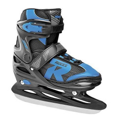 Roces Patins à Glace Jokey Ice 2.0Boy réglable 38-41 Black-Astro Blue 450696