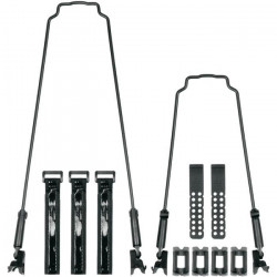 Kit tringles pour garde-boues SKS veloflexx 65 29- - noir - TU