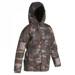 Veste junior Sibir 100 camouflage WL vert
