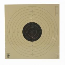 Cible pistolet air comprimé à 10 mètres (17x17 cm)