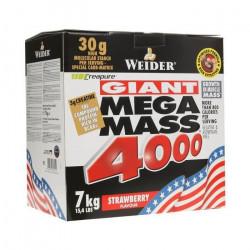 WEIDER MEGA MASS 4000  WEIDER Fraise 7 kg