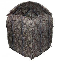 Affût tente chasse camouflage marron