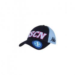 Casquette SSC Napoli 2020/21 asety 4 - bleu/bleu ciel/rose - TU